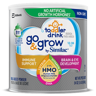 Sữa Similac Go & Grow NON-GMO Milk-Based Toddler Drink Powder With 2-FL HMO 680g