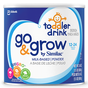 Sữa Similac Go and Grow Milk-Based Toddler Drink 680g
